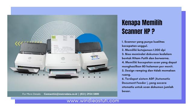 Scanner HP unggulan sekelas enterprise