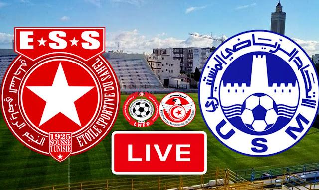 Ligue 1 Tunisie Match Etoile Du Sahel vs US Monastir Live Streaming