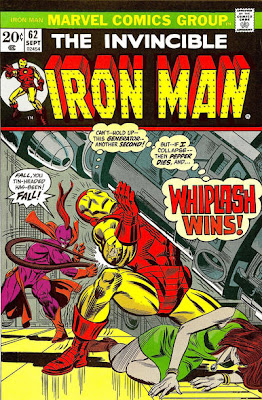 Iron Man #62, Whiplash