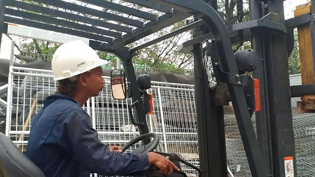 Pagar BRC Galvanis Jakarta Timur