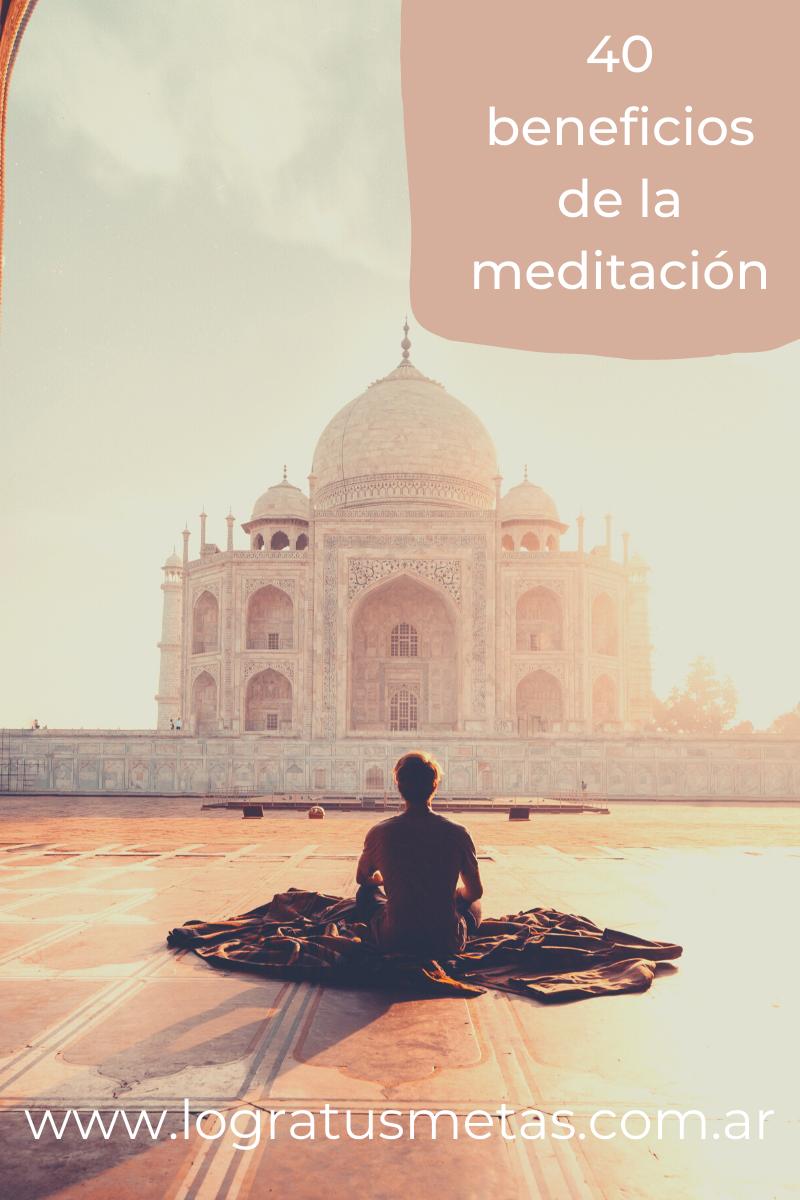 40 beneficios de la meditación