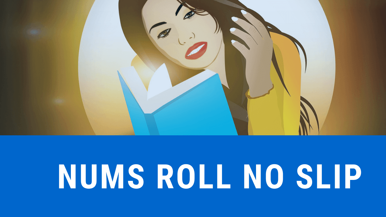 nums roll no slip 2020