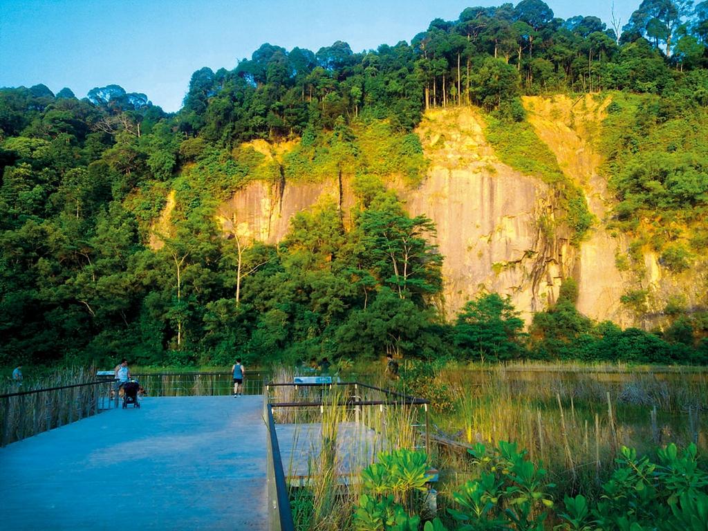 Singapore Quarry at the Bukit Timah Nature Reserve