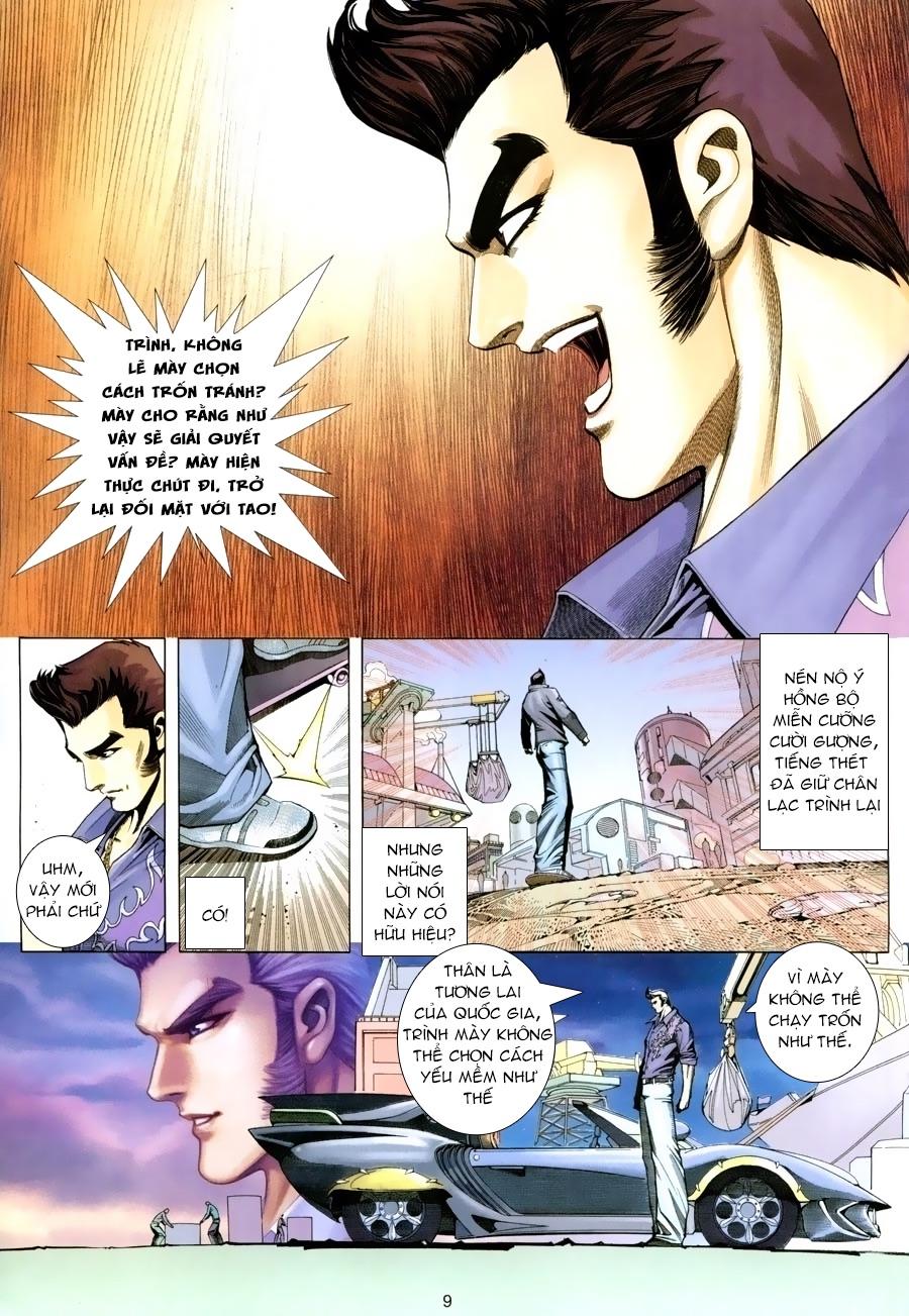 Xích Trụ Phạn Đường chap 15 - Trang 9