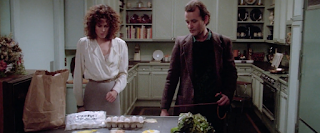Ghostbusters 1984 Sigourney Weaver Bill Murray kitchen scene