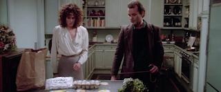 Ghostbusters 1984 Sigourney Weaver Bill Murray kitchen scene