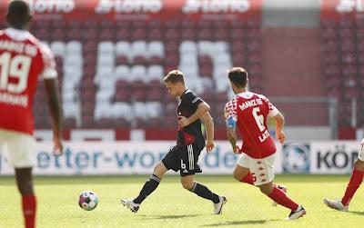 ملخص واهداف مباراة ماينز وبايرن ميونيخ (2-1) الدوري الألماني