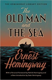 The Old Man and the Sea  by Ernest Hemingway (Book cover))