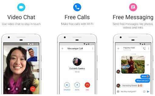 تحميل تطبيق فيسبوك مسنجر لايت Messenger Lite للمكالمات ورسائل