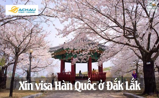 Xin visa Hàn Quốc ở Đắk Lắk