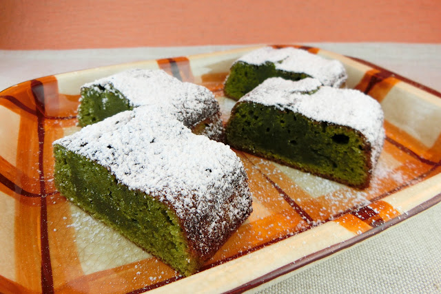 トースターで抹茶チョコレートケーキのお菓子を作る方法