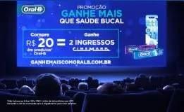 Promoção Oral-B 2019 Ganhe Mais - Compre Ganhe 2 Ingressos Cinema Cinemark