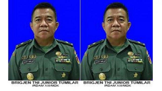 Profil Brigjen TNI Junior Tumilaar, Jenderal Bintang Satu yang Kirim Surat ke Kapolri Listyo Sigit