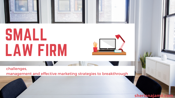 Small Law Firm: Challenges, Management and Effective Marketing Strategies to Breakthrough