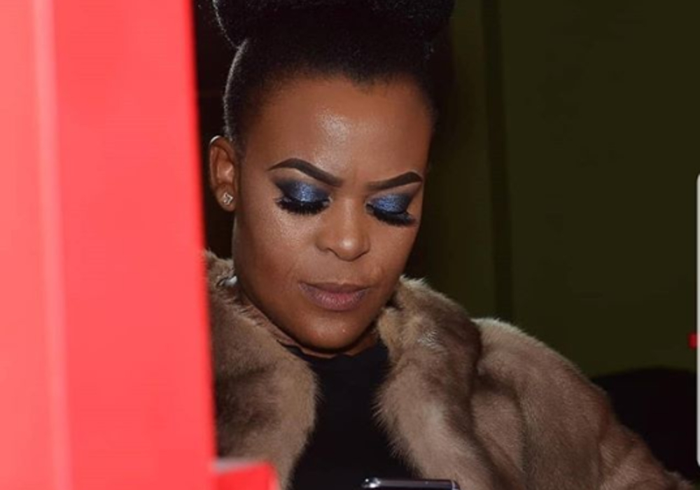 """You Are My Inspiration"" A Fan Tells Zodwa Wabantu As She Goes Naked At The Beach [Photos]"