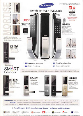 Samsung Smart Doorlock Rumah Material