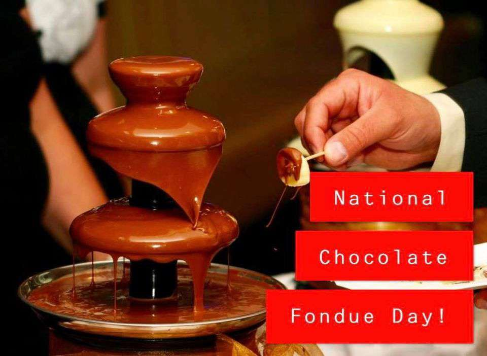 National Chocolate Fondue Day Wishes For Facebook