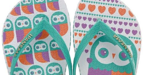 e91610b4daf3c2 My Owl Barn  Ipanema Owl Flip Flops