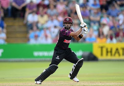 Babar Azam playing for Somerset HD pics