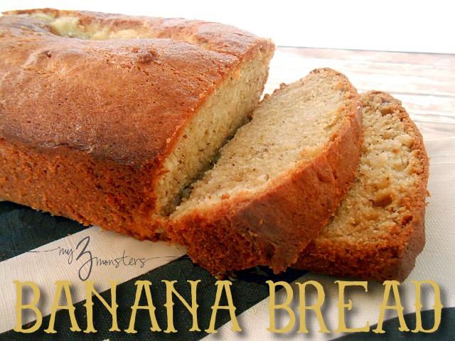 banana bread recipe card - photo #33