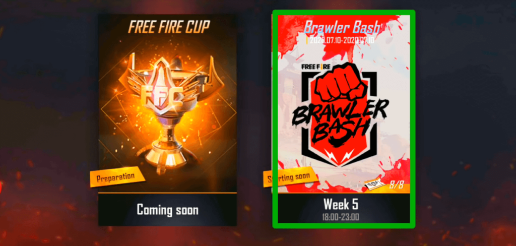 Register For Free Fire Brawler Bash Tournament