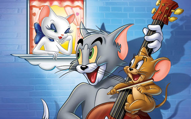 full hd tom and jerry hd wallpaper