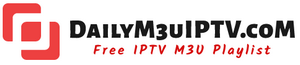 Free Daily IPTV M3U Playlist