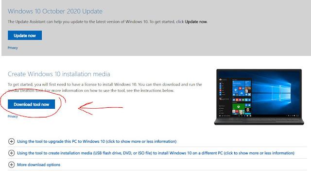 طريقة الحصول على احدث نسخة ويندوز 10 Windows