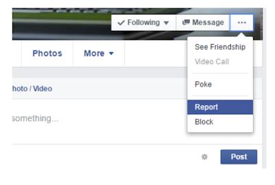 Cara Melaporkan Akun Palsu (Fake) di Facebook