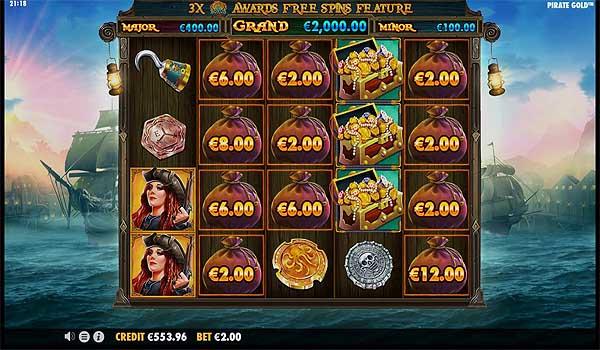 Main Gratis Slot Indonesia - Pirate Gold (Pragmatic Play)