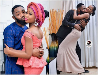 [PHOTOS] Check out lovely pre-wedding photos of comedian Wole Arole and fiancé