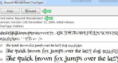 Cara install font untuk photoshop CS dan CC Mmudah