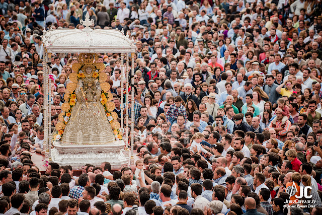 Unas nuevas andas para la Virgen del Rocío