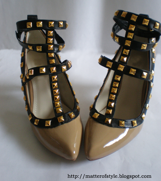 A Matter Of Style: DIY Fashion: Studded Shoes DIY
