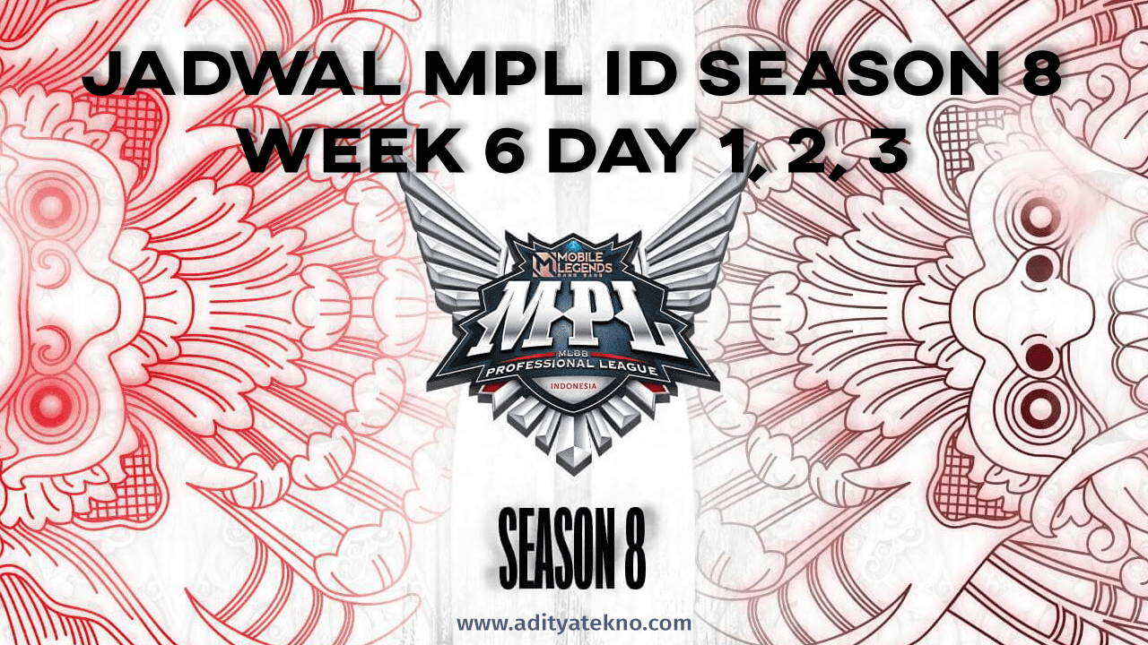 Jadwal MPL ID Season 8 (S8) Week 6