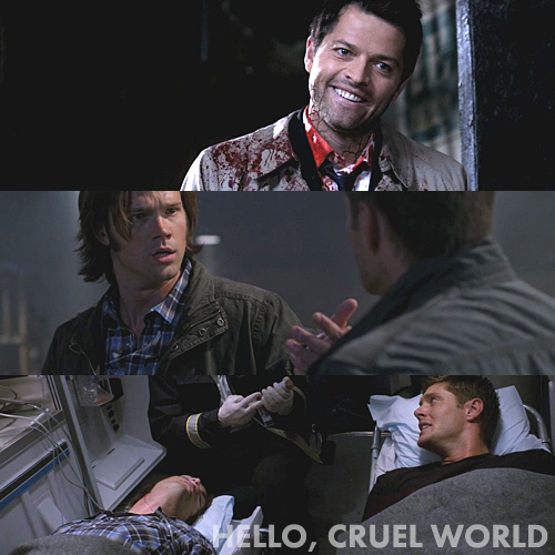 Supernatural 7x02 - Hello, Cruel World
