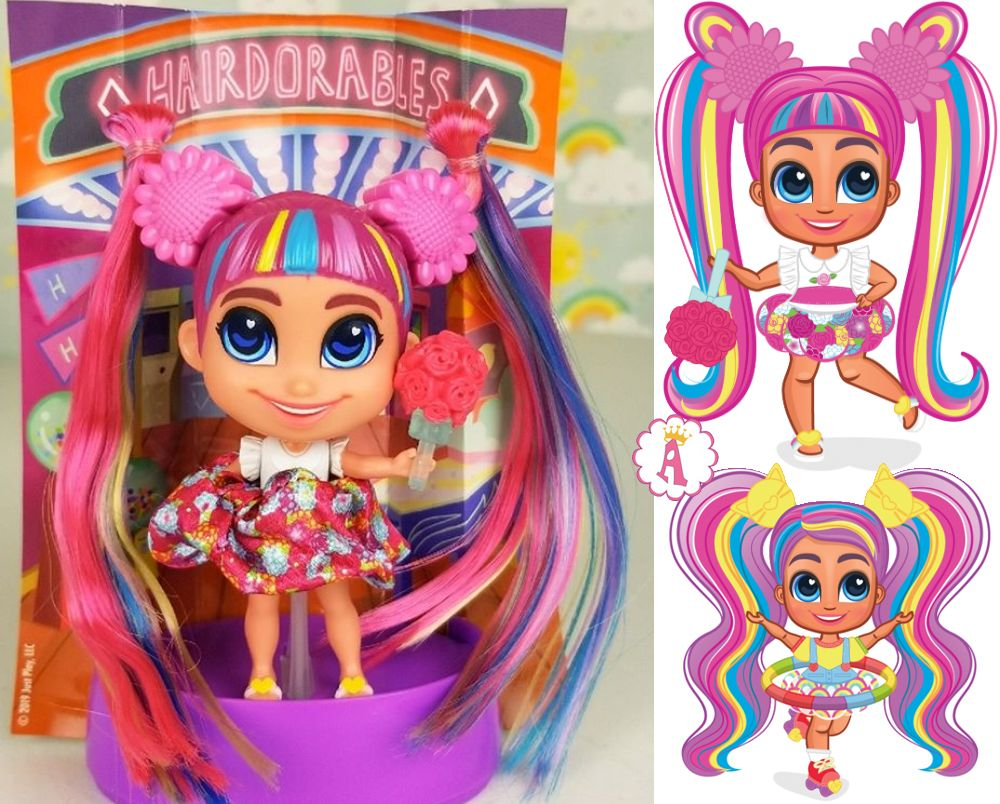Кукла Хэрдораблс Daisy серия Short Cuts