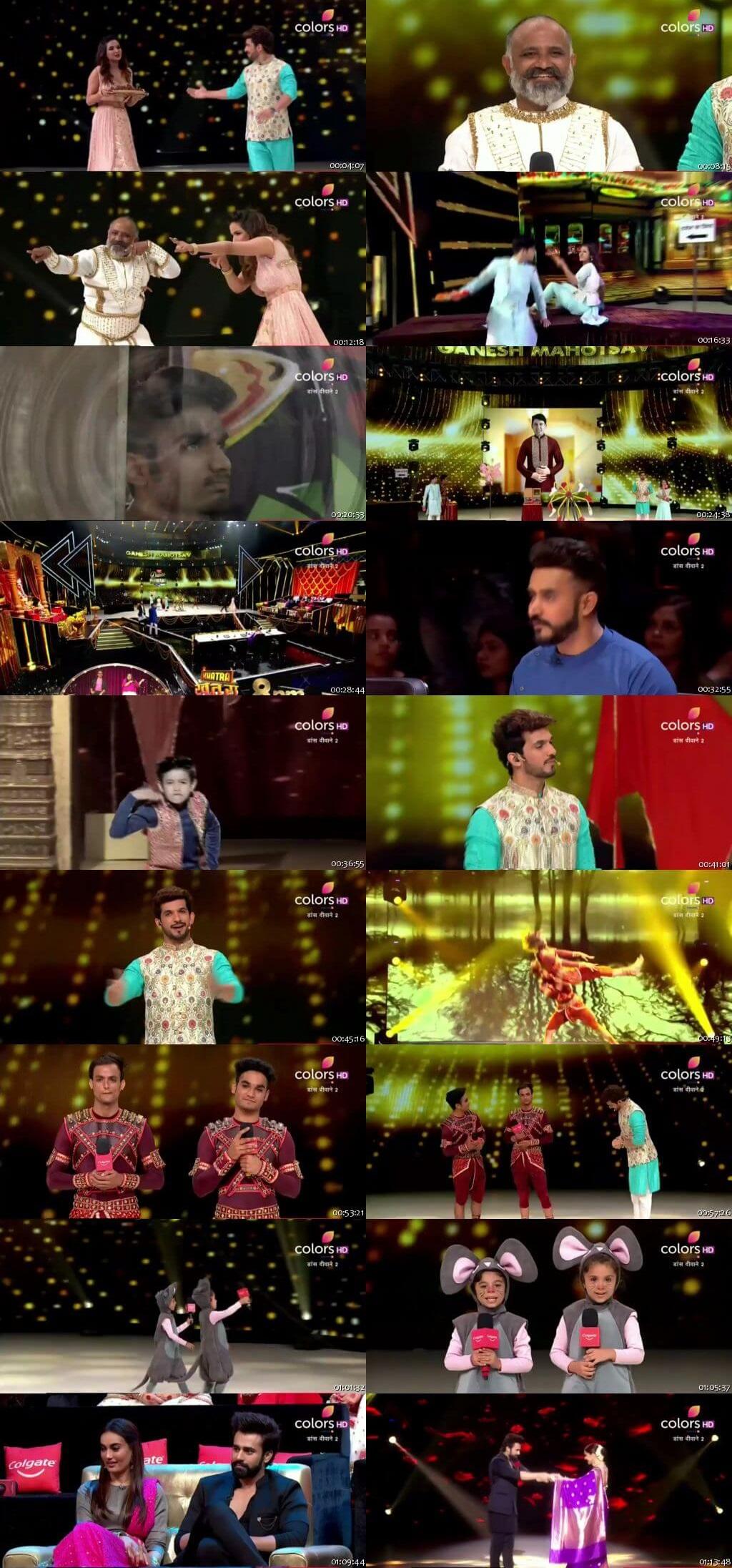 Screenshots Of Hindi Show Dance Deewane 2 31st August 2019 Episode 23 300MB 480P HD