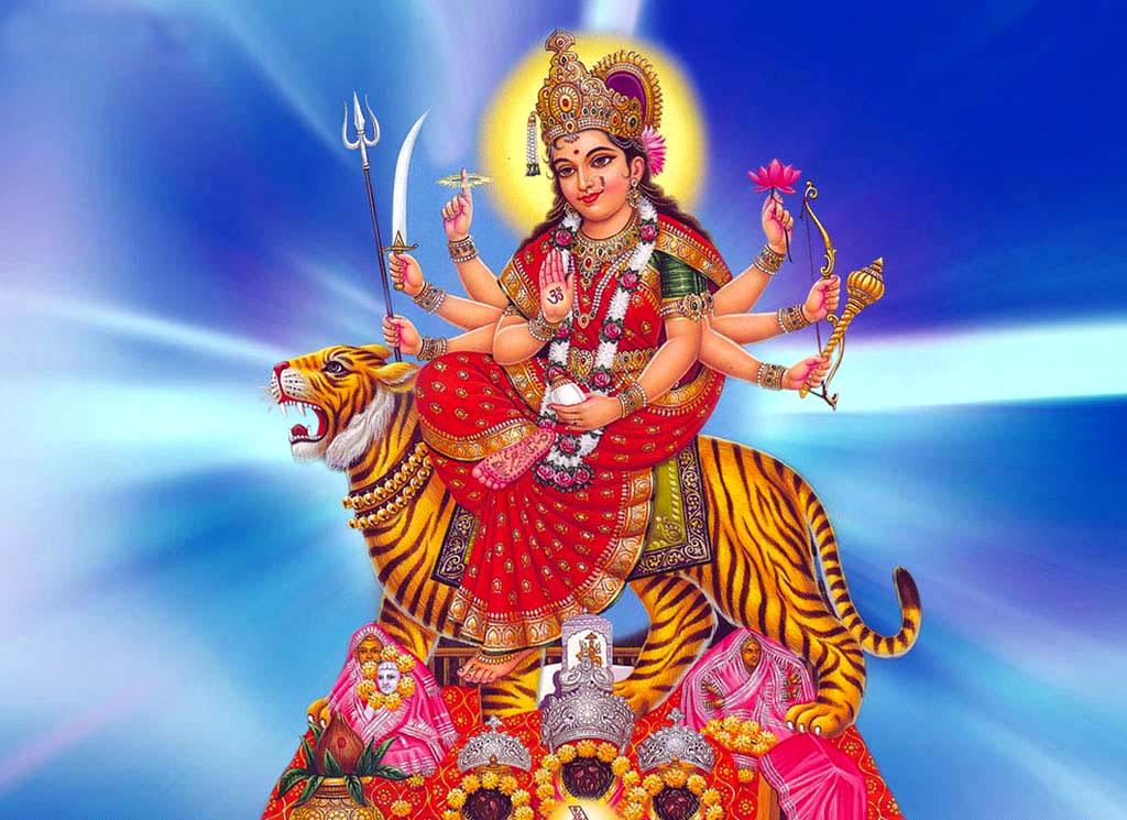 Beautiful Images of Sherawali Mata / Durga Maa Photos Wallpapers