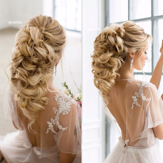 Wedding Hairstyles With Hair Extensions: Stunning Formal Hairstyles & Makeup By ElStile, California