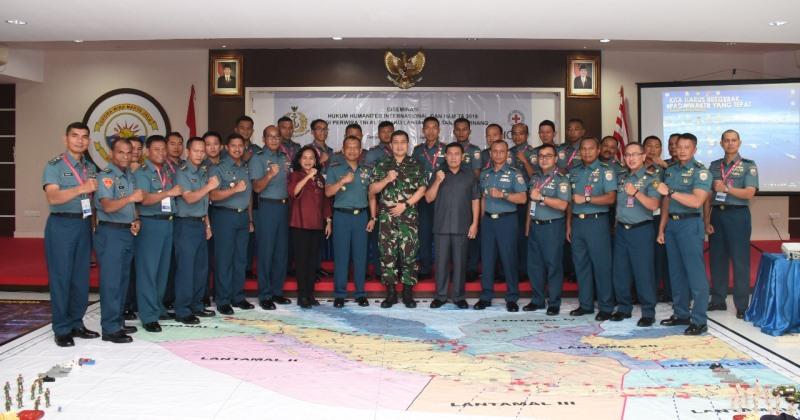 Kadiskumal: Tidak Hanya Berperang, Prajurit TNI AL Dibekali Pengetahuan Hukum