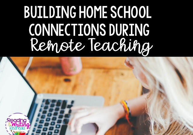Building Home School Connections During Remote Learning