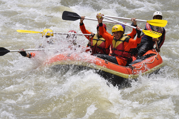Serayu Rafting
