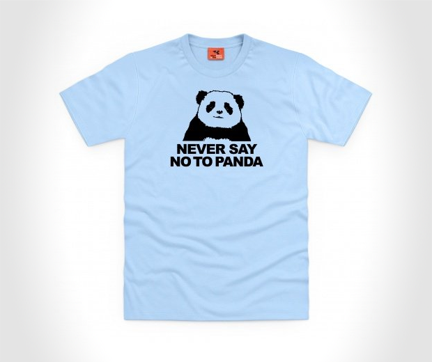 Never Say No To Panda T Shirt