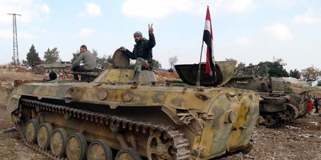 وحدات الجيش السوري تواصل تقدمها في منطقة اللجاة بريف درعا الشرقي.؟