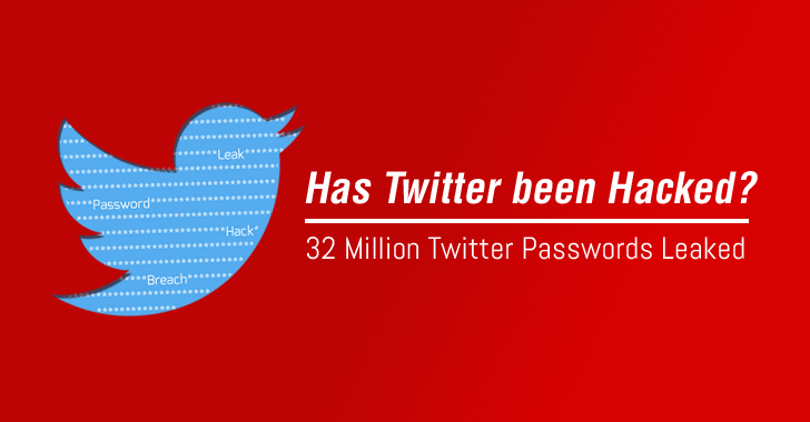 Warning! 32 Million Twitter Passwords May Have Been Hacked and Leaked