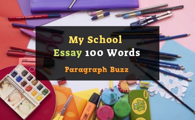 My School Essay 100 Words