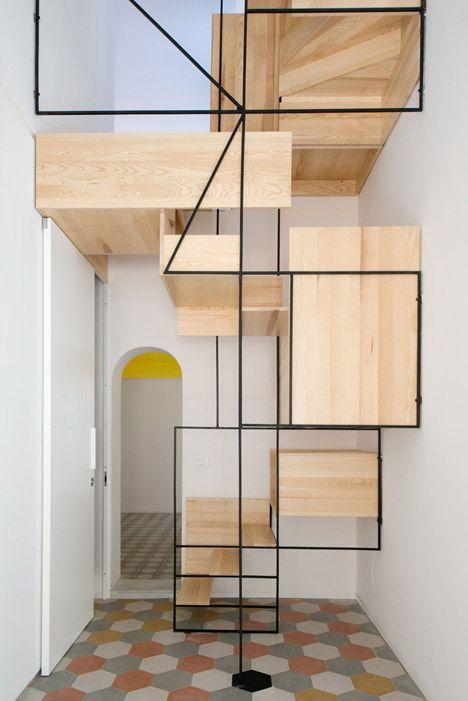 green pear diaries interiorismo escaleras interiores con encanto - Escaleras Interiores