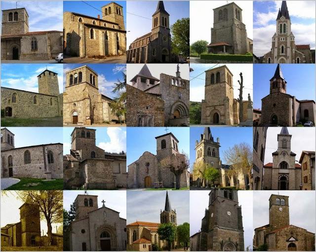 églises Saint Vincent en Lignon