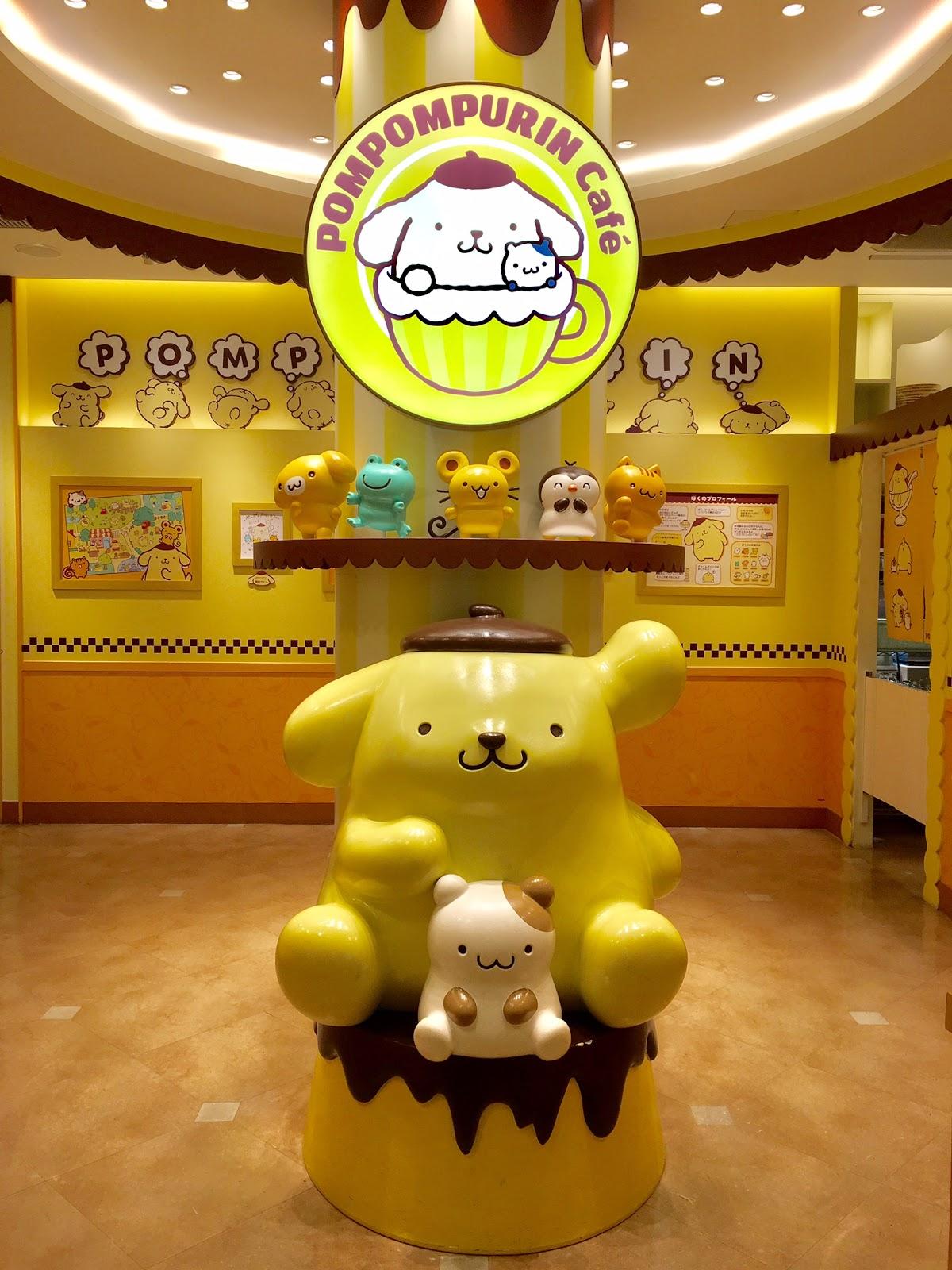 Pompompurin Cafe Tokyo